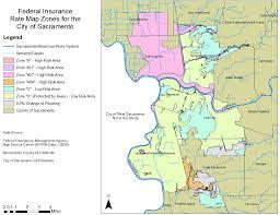 Map Sacramento Using Gis To Determine Flooding Issues For The Sacramento Area