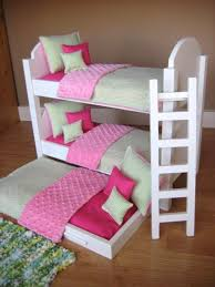 18 Inch Doll Bunk Bed Impressive American Bunk Bed Handmade Doll Bunk Beds
