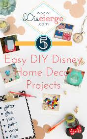 diy easy home decor discierge 5 easy diy disney home decor projects