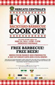 food magazine invites its readers to the first backyard bbq cook