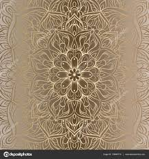 background with antique luxury beige and gold vintage