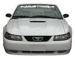 mustang windshield decal mustang windshield decals stickers ebay