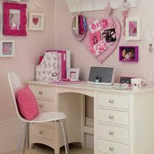 Pink Computer Desk Bedroom Pink Collection Also Outstanding