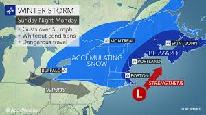 winter storms to deliver one two punch across northeastern us into