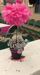 Centerpieces For Baby Shower by Best 20 Zebra Centerpieces Ideas On Pinterest Zebra Party Pink
