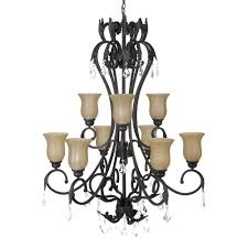 yosemite home decor vantage collection 9 light sierra slate