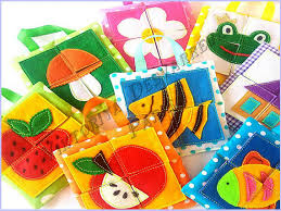 babys birthday these felt puzzles will be a gift for babys birthday