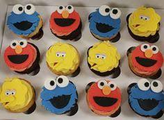 sesame cake toppers fondant sesame cupcake toppers sesame cupcakes