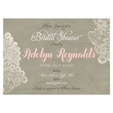 Shabby Chic Wedding Shower by Shabby Chic Bridal Shower Invitation Rustic Bridal Shower Lace