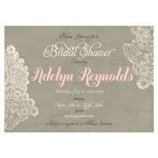 Lace Wedding Invitations Shabby Chic Bridal Shower Invitation Rustic Bridal Shower Lace