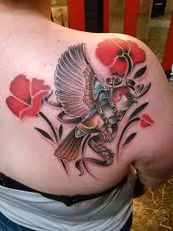 cool sparrow tattoos steampunk sparrow by greg at trx tattoos st louis mo tattoos