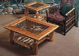 log living room furniture cuyuna coffee table rustic furniture mall by timber creek