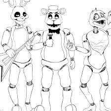 fnaf mangle coloring pages fnaf 2 coloring pictures step how to draw withered bonnie the