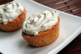 nut free raw carrot cupcakes with apple cashew frosting the