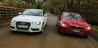 2009 audi a4 vs bmw 3 series luxury sedan comparison one audi a4 v bmw 3 series