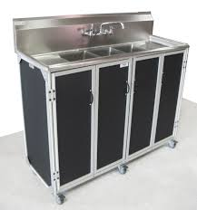 small 3 basin sink self contained town u0026 country event rentals