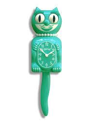Emerald Emerald Green Lady Limited Edition Kit Cat Klock 15 5