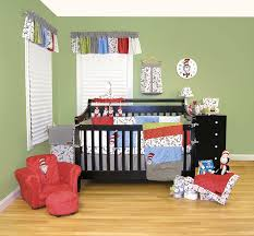 Dr Seuss Furniture For Sale by Amazon Com Trend Lab Dr Seuss 4 Piece Crib Bedding Set Cat In
