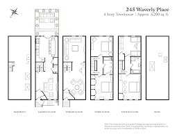 romanesque floor plan 245 waverly place new york ny 10014 greenwich village
