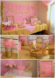 pink and gold party supplies pink and gold party favors search fiestas