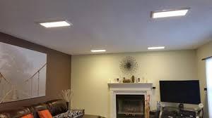 pixi led flat light installation pixi 1 ft x 2 ft edge lit led flat light luminarie flt12r27md1622a