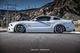 mustang modified 2014 ford mustang with 20 inch bd 8 u0027s in two tone black blog