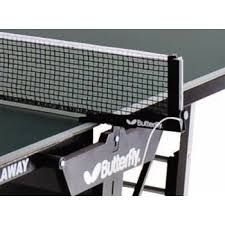butterfly table tennis net set butterfly replacement fixed net post set for playback and outdoor