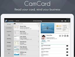 Business Card Capture App Camcard Scan And Save All Business Cards In Smartphone