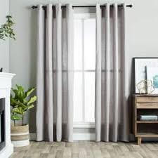 ati home belgian textured rod pocket curtain panel pair free