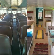 Mobile House Father And Son Converted A Bus Into A Tiny Mobile House