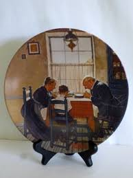 152 best rockwell decorative plates and figurines images on