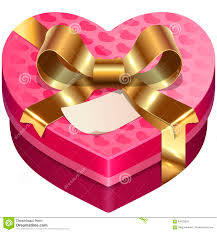 s day candy hearts vector s day candy heart shaped box stock vector