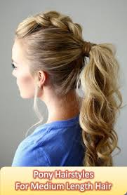 work hairstyles for medium length hair medium length ponytail hairstyle 1000 ideas about medium hair