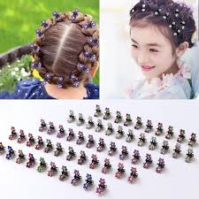 wholesale hair accessories wholesale 12pcs lot small flowers metal hair claws