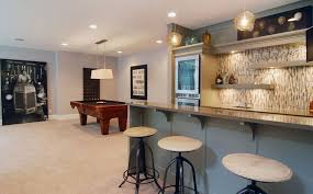 Spice Up Your Basement Bar  Ideas For A Beautiful Bar Space - Bar backsplash