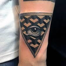100 illuminati tattoos for enlightened design ideas