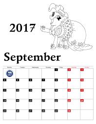 coloring pages calendar 2017 for kids printable 2017 calendar