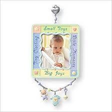 Baby Keepsake Ornaments Amazon Com Hallmark Keepsake Ornament Baby U0027s First Christmas