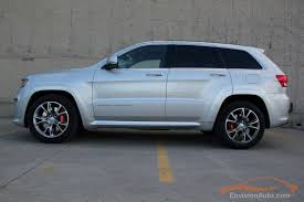 silver jeep grand cherokee 2001 2012 jeep grand cherokee srt8 envision auto calgary highline
