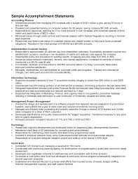 Accomplishments In Resume Cover Letter Accomplishments Examples Resume Major Accomplishments