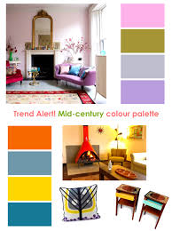 furniture pretty mad for mid century modern color palette trends