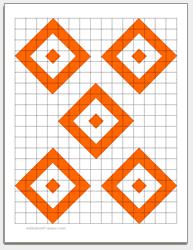 printable shooting targets pdf free downloadable shooting target 5 diamonds guns and reloading