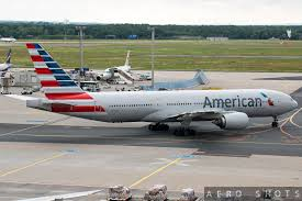 american airlines flight delayed due to smell