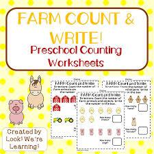 preschool worksheets fall counting worksheets look we u0027re learning
