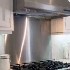 elegant brushed aluminum backsplash for your kitchen aluminum with