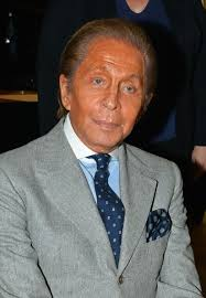 designer valentino italian fashion designer valentino seen being presented with the