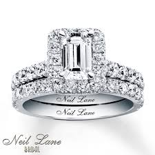 neil bridal set wedding rings bridal sets 1000 vintage princess cut bridal