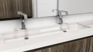 wide basin bathroom sink vc848u undermount sink 48 inches cube collection wetstyle