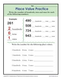 place value practice addition worksheets for 2nd grade