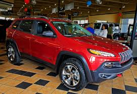 jeep cherokee trailhawk red jeep cherokee price to start at about 23 000 the blade